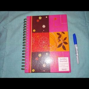 Cute Pink Jumbo Journal RARE
